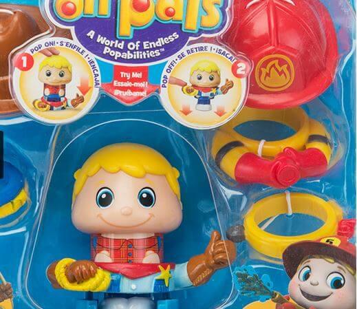 عروسک با ست لباس کابویی و آتشنشان Spin Master کد ۸۹۲۰۰