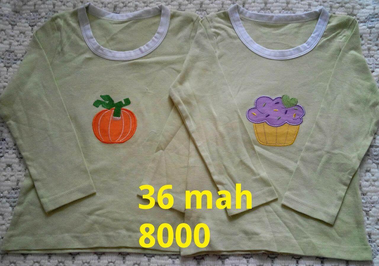 تی شرت آستین بلند ۳۶ ماه