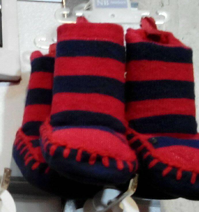 جوراب کفه دار پاپوشی